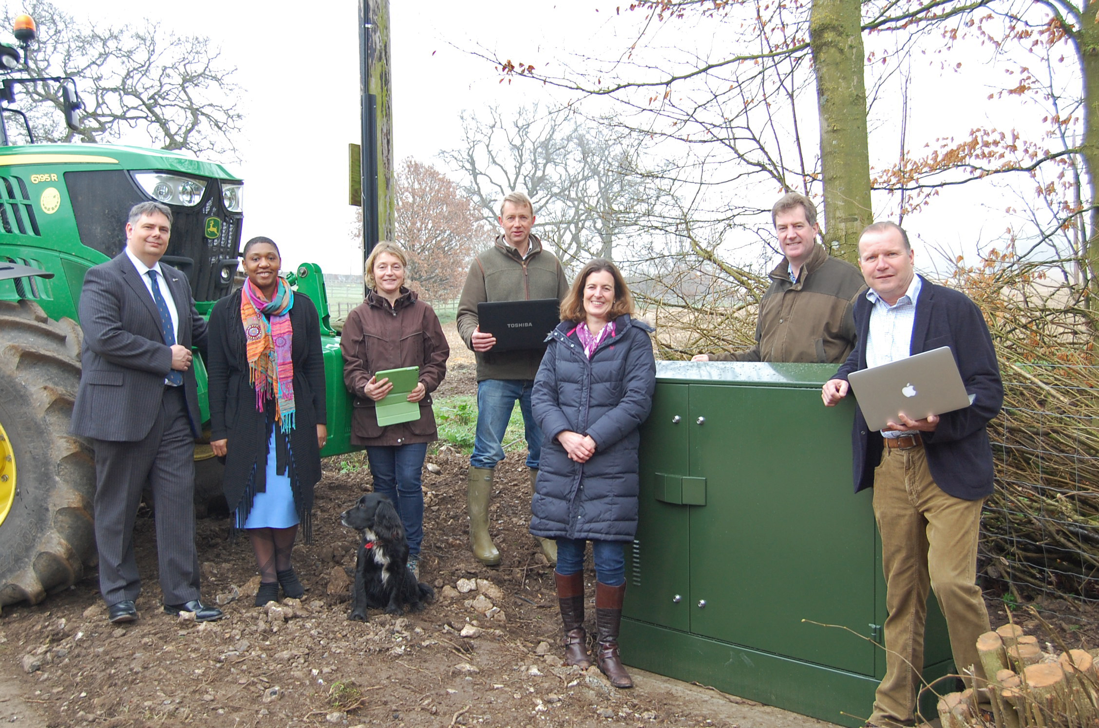 Partnership approach brings high-speed broadband to rural villages in the New Forest and Meon Valley