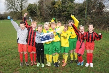 Oakley Football Club help us launch Phase One of the project