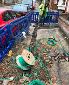 Virgin Media build superfast broadband